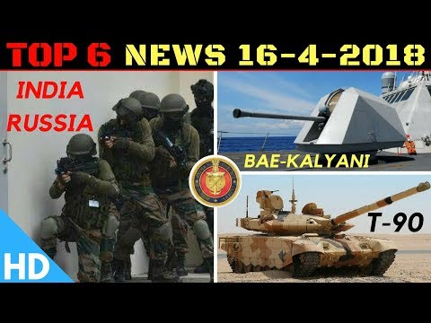 Indian Defence Updates : India Pakistan Russia Joint Drill,T-90 Deal Signed,India-Israel Joint UAV