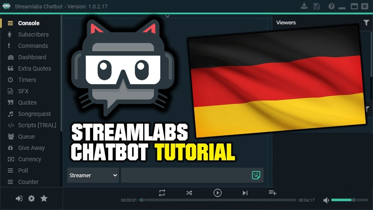 TUTORIAL: Streamlabs Chatbot | Kostenloser Twitch-Chatbot [DEUTSCH]