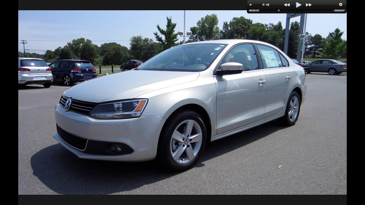 2011 Volkswagen Jetta SEL TDI Start Up, Engine, and In ...