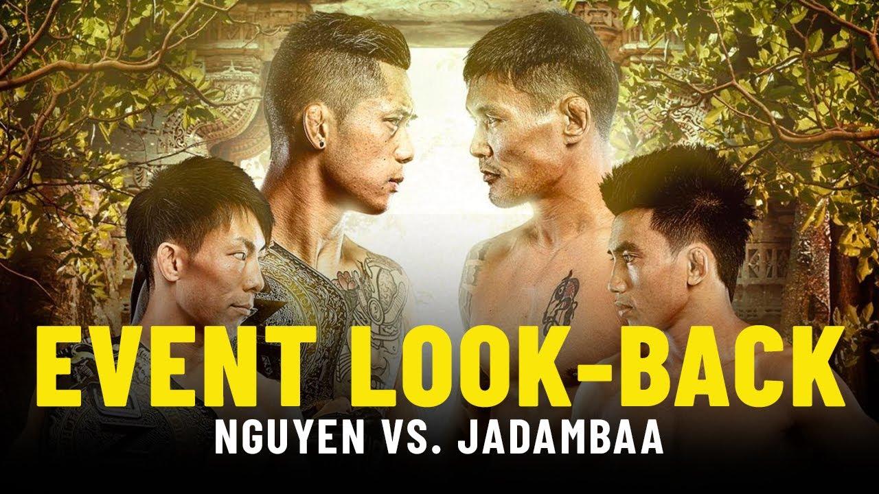 Martin Nguyen vs. Narantungalag Jadambaa Event Look-Back   ONE Championship Up Close