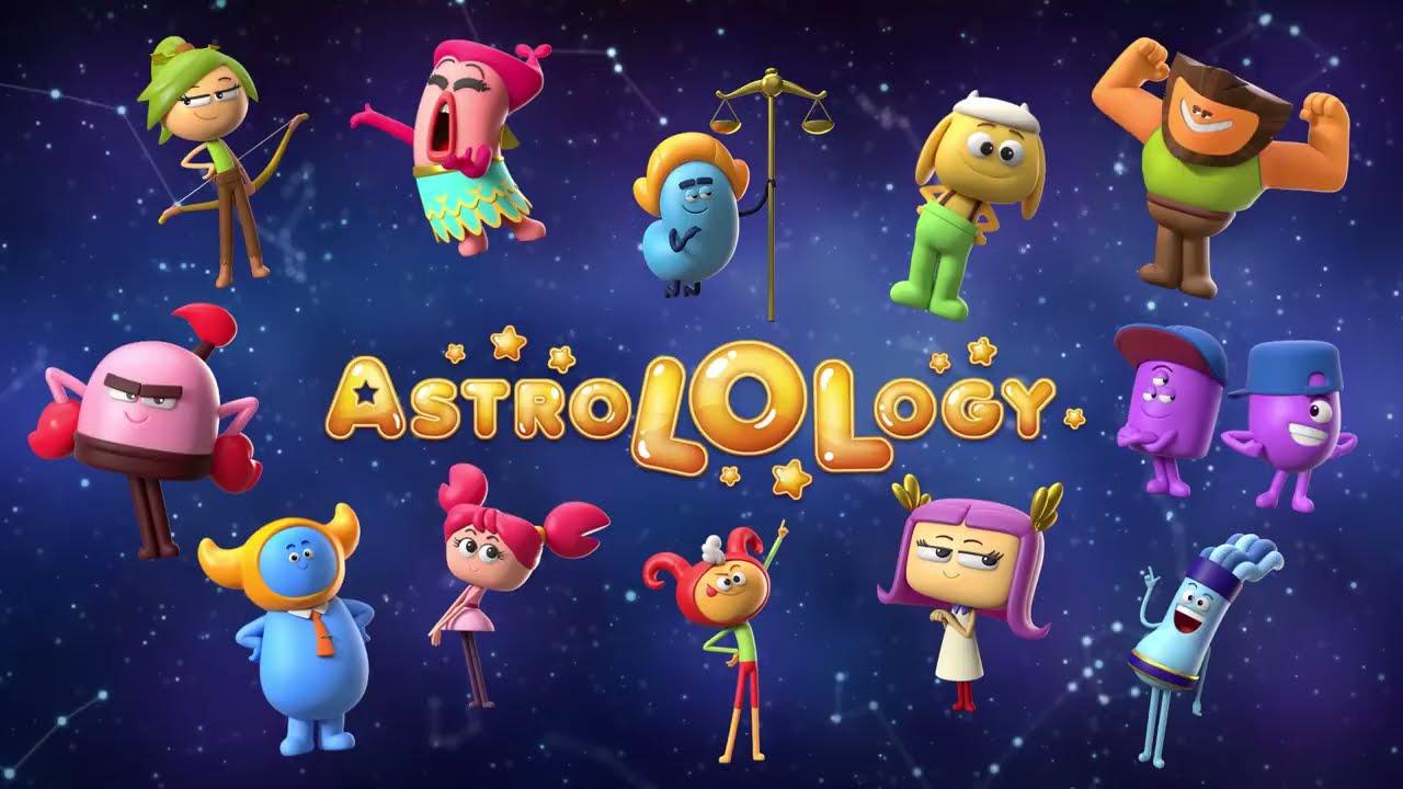 AstroLOLogy | FOOD CHALLENGE IN SUPERMARKET | Cartoon for Kids | Pop Teen Toons