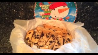 How to Make Cherry Almond Biscotti - Great Holiday Homemade Gift!