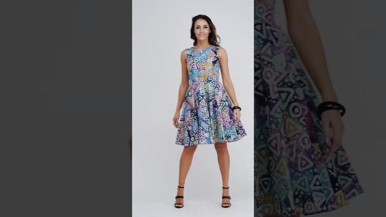 e4e0867f0d Odszyte.pl Błękitna sukienka w kolorowe wzory marki Jelonek - YouTube