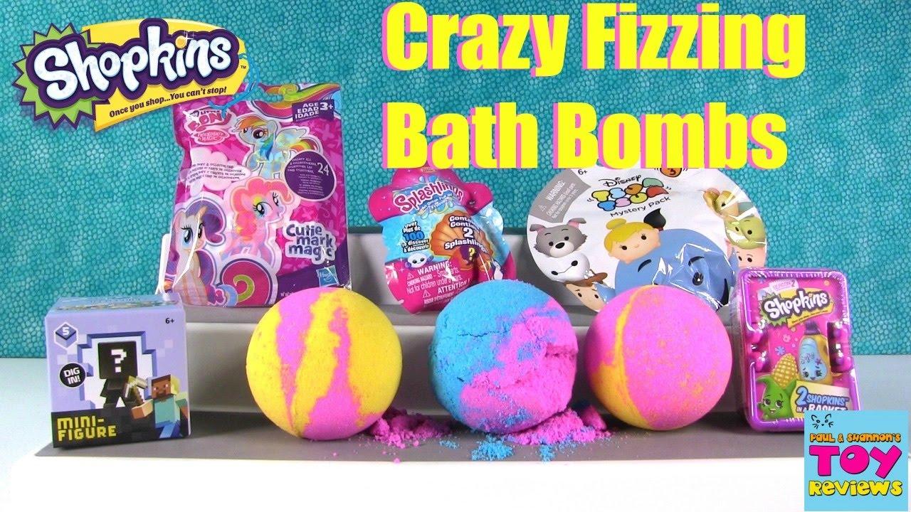 Shopkins Bath Bombs 23 My Little Pony Disney Splashlings