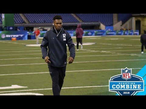 CB Grant Haley 2018 NFL Combine Highlights ᴴᴰ || 3/05/18