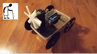 Bargain Store Project #24 Storage Container Electric Fan Car