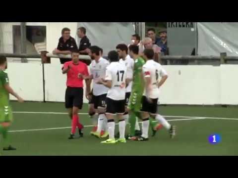 Resumen del partido de liga Gernika-Racing de Santaner (TVE Cantabria)