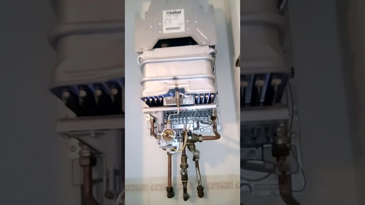 d montage et r paration chauffe eau gaz vaillant 14 litres atmo mag plombier chauffagiste. Black Bedroom Furniture Sets. Home Design Ideas