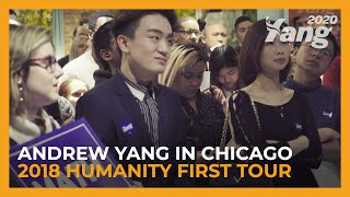 Andrew Yang in Chicago | 2018 Humanity First Tour