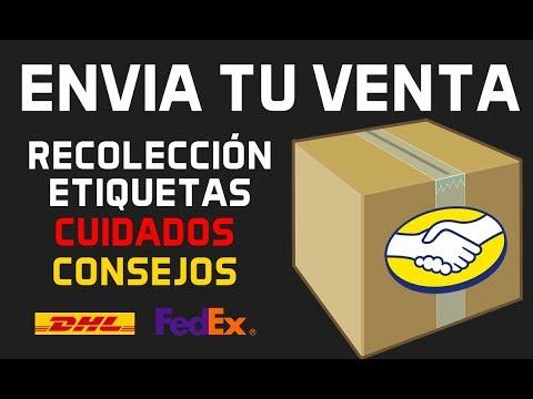 ENVIAR Un Producto VENDIDOS En MERCADOLIBRE (Etiquetas, Recolección, Embalaje) 2019