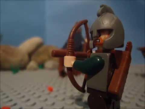 LEGO Lordoftherings Animation: The Warg rider Ambush