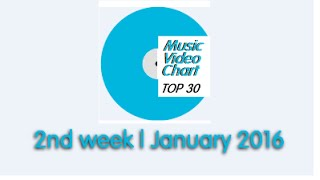 ClipNews Music Video Chart | Top 30 | 2nd Week, January 2016