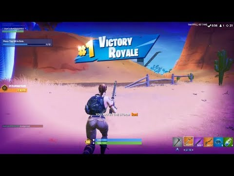 High Kill Solo Arena Gameplay (Fortnite Ps4 Controller)