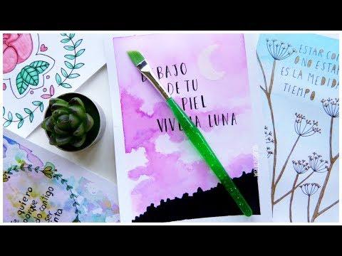 Tarjetas O Cartas De Amor Hechas A Mano Manualidades Fáciles Para