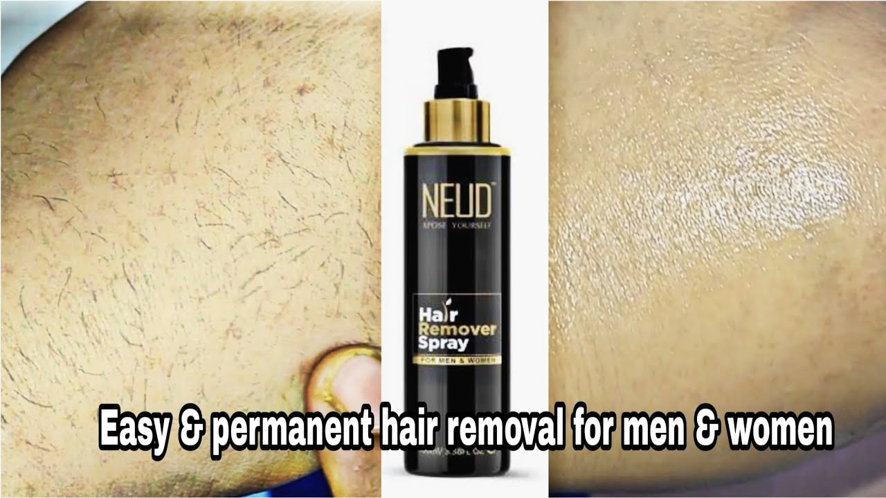 New Neud Hair Removal Spray For Men Women Honest Review