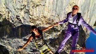 Экстрим прыжки в костюмах от Roberta Mancino