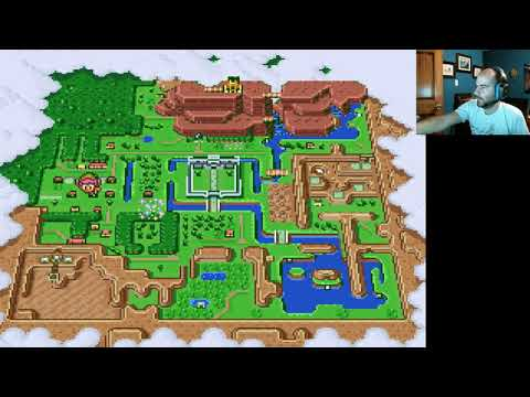 Zelda Link to the Past part 9, Dark World level 3