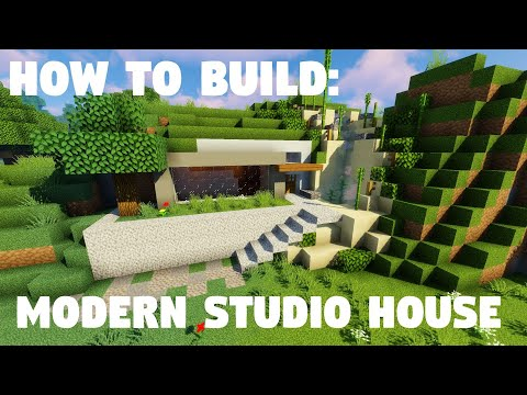 How To Build: Modern Underground Studio House