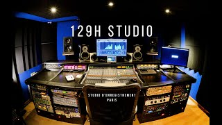 Teaser 129H STUDIO - Enregistrement, mixage et production musicale à Paris