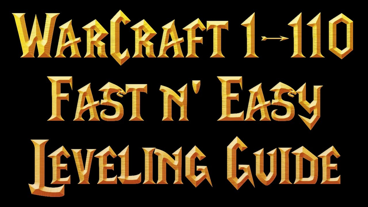 Leveling from 1-60: questing and dungeons guides wowhead.