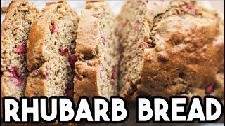 Rhubarb Bread Recipe By Little Lulu Cooking Part 1