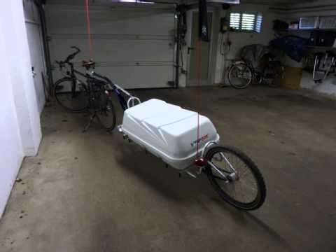 Biketrailer Fahrradanhänger Single Trailer One Wheel Trailer