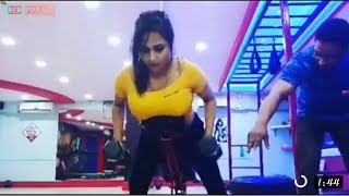 Fliz Movies Hot Actress Workout In Gym // Exercise Lesson Video // Flizmovies