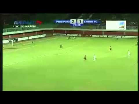 full half persipura santos fc (2-1) battle of league 3 oct