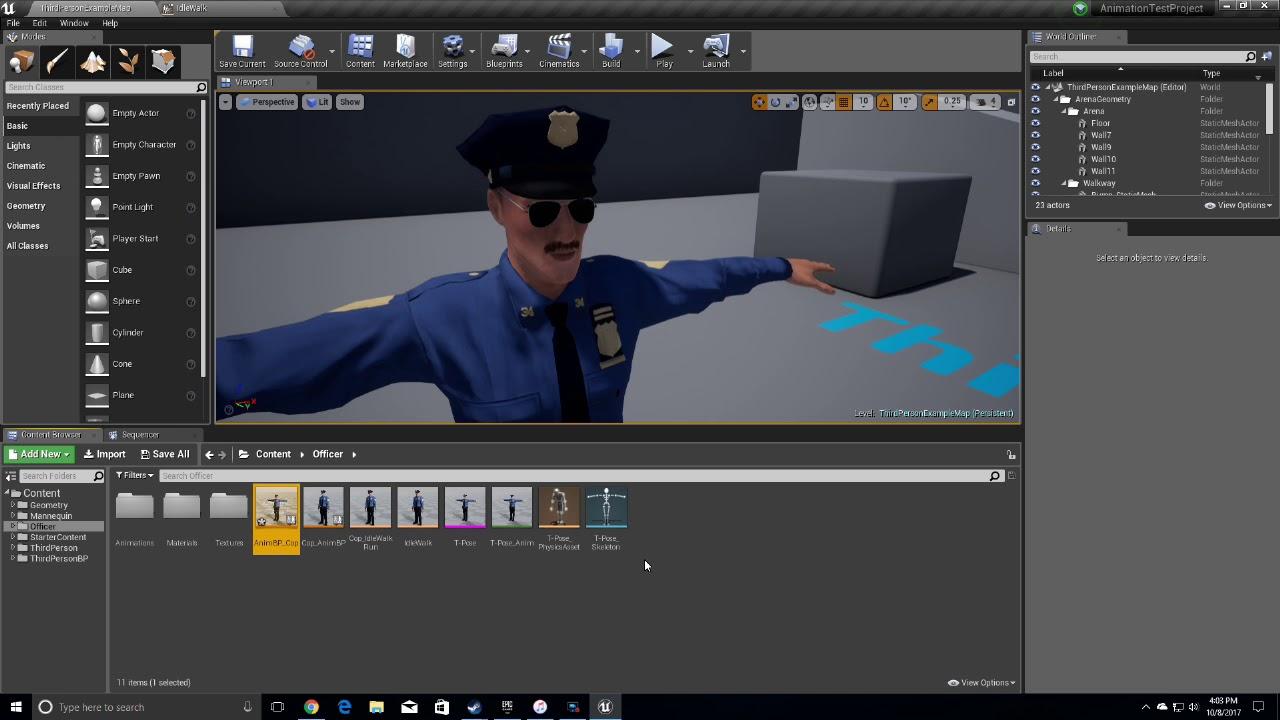 Ue4 animation blueprint quick tutorial youtube ue4 animation blueprint quick tutorial malvernweather Images