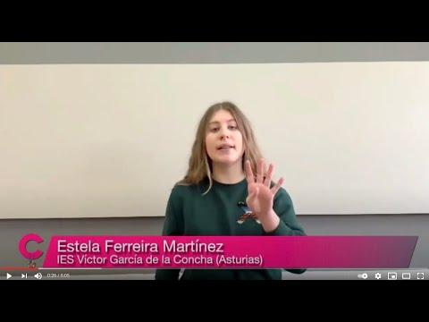"""VÍDEO Monólogo ganador de Estela Ferreira Martínez """"Cuestión de Ciencia"""""""
