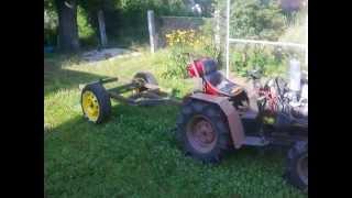 Budowa  przyczepki wywrotki do traktorka