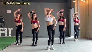 30 phút giảm cân khỏe đẹp mỗi ngày cùng bài tập Aerobic số 7 của HLV Hồ Hàm Hương full 30 phút