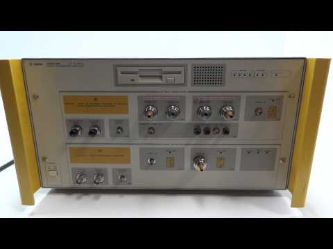 HP AGILENT 70843B 0.1-12 GBIT/ BIT ERROR RATE TESTER / DATA PERFORMANCE ANALYZER