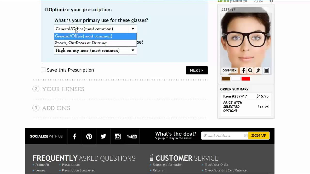 efbe0127ac How to Order Progressive Glasses from ZenniOptical.com - YouTube