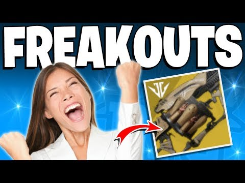 Destiny 2 - Girl Freakouts Over Anarchy Drop - Top 5 Funny Reactions / Episode 126 thumbnail