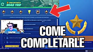 SFIDE ROAD TRIP PASS BATTLE SEASON 10 - GUIDE TO HOW COMPLETARLE (FORTNITE)