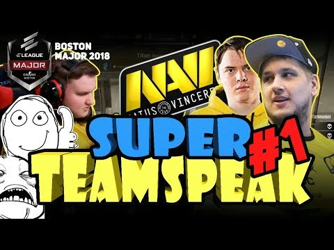 SUPER TEAMSPEAK NAVI #1 [BOSTON MAJOR 2018] (ENG SUBS)