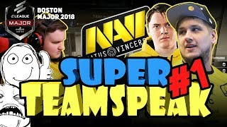 SUPER TEAMSPEAK NAVI #1 [BOSTON MAJOR 2018] (ENG SUBS)