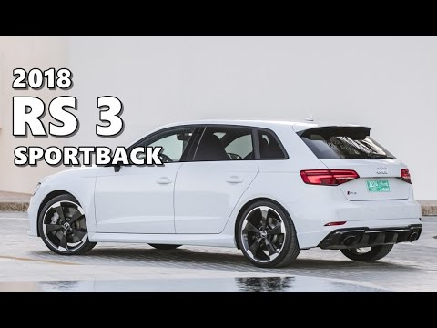 2018 Audi Rs 3 Sportback Highlights Youtube