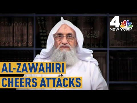 Al Qaeda Leader Ayman al-Zawahiri Cheers 9/11 Attacks on 18th Anniversary | NBC New York