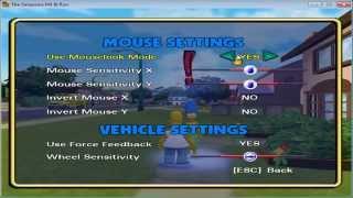 Controles Simpson Arreglar los controles del video juego