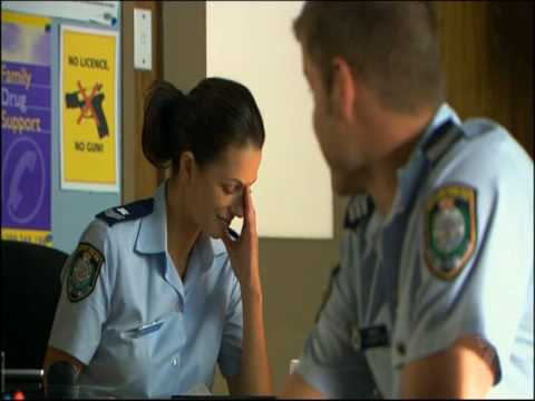 Home & Away  Esther Anderson as Ldg. Snr. Const. Charlie Buckton. Part 115.