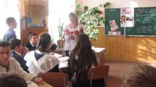 Урок в 9 класі Наталка Полтавка