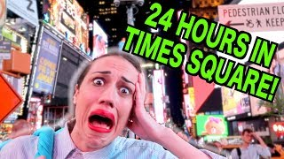 Stranded In Times Square For 24 Hours!!!