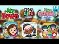Best App Pretend Play Compilation: My Town Games, Toca Life and Playtoddlers