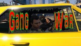 GTA 5 PC movie GANG WAR (machinima)