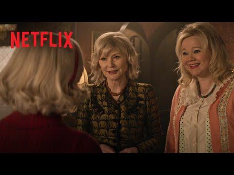 El mundo oculto de Sabrina: Parte 4 | Clip exclusivo: Las nuevas tías de Sabrina | Netflix