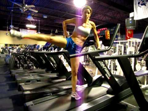 how to run properly on a treadmill video