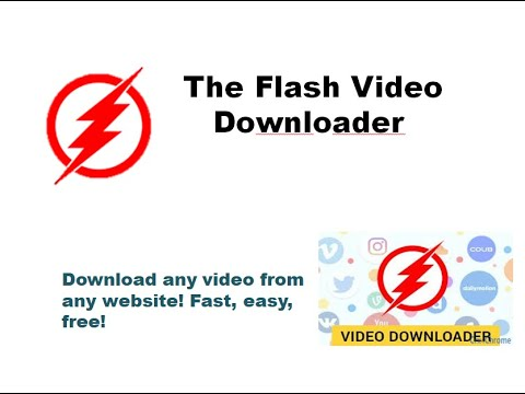 How To Download Facebook Instagram Video The Flash Video Downloader So Laden Sie Ein Video Herunter Youtube