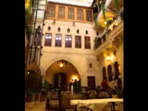 Mysterious fascinating Orient Aleppo old city  Syria  & Eastern music